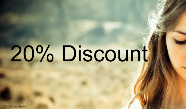 Get 20% Discount on All our products & services.