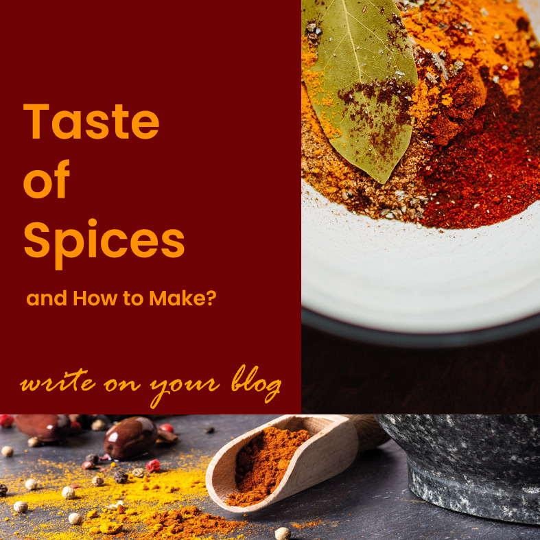 Indian Spices Blogging Site