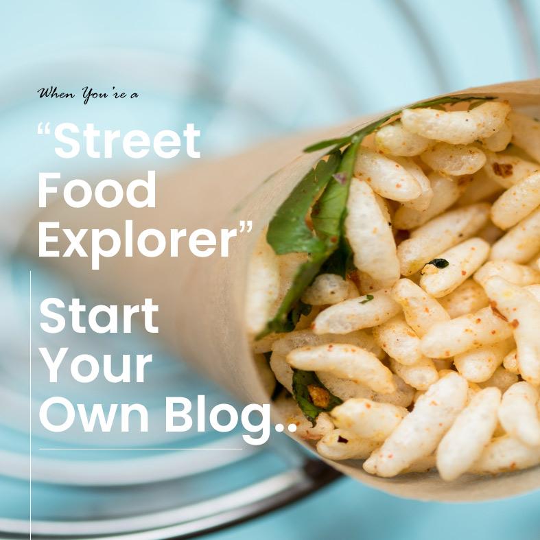Design a Food Blogging Website