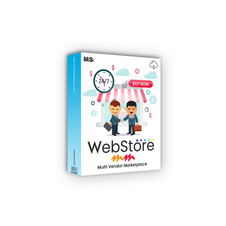 multi-vendor e-commerce webstore designing