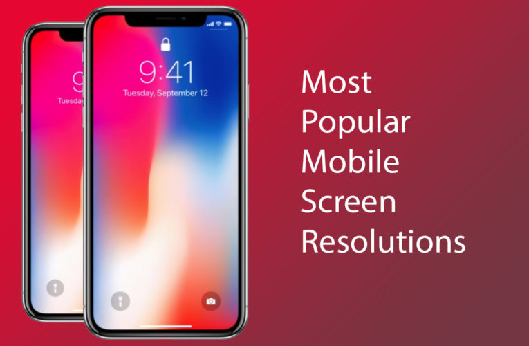 25 Most Popular Mobile Screen Resolutions in 2019-2020