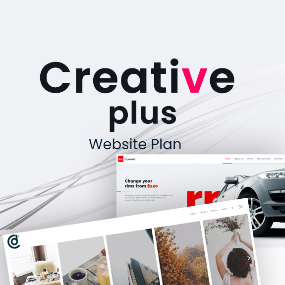 Creative Plus - Website Plan