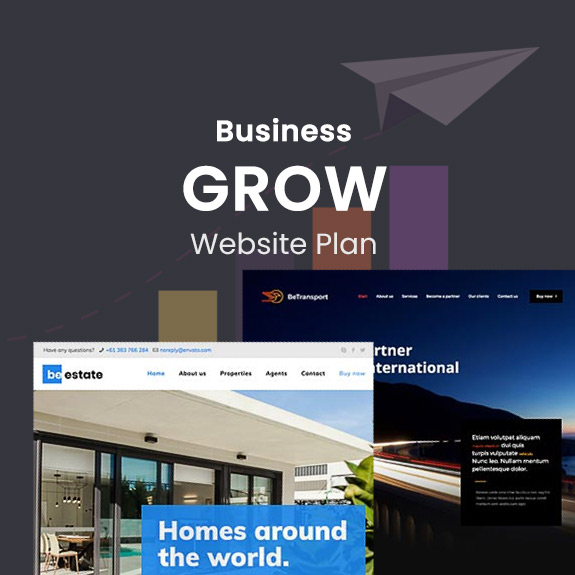 Business Grow - Website Plan
