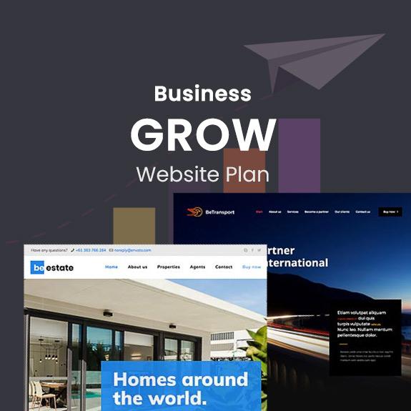 Business Grow - Website Plan