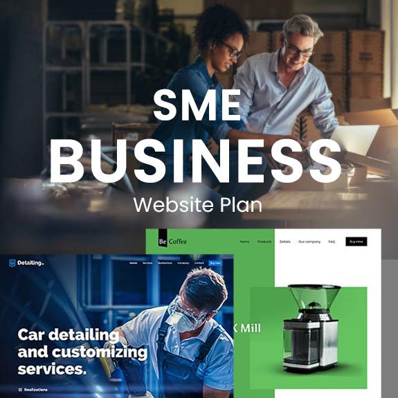SME Business - Website Plan