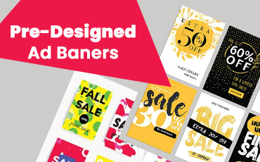 Buy Pre-Designed Ad Banners for Digital Marketing